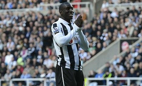 Rift: Newcastle striker Ba