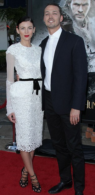 Indiscretion: Kristen was caught kissing director Rupert Sanders, who is married to Liberty Ross
