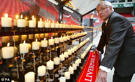 Vigil: The news will come as a boost to those who have campaigned for justice