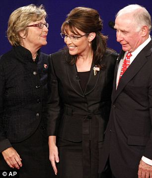 Parents: Berry was raised by her mother Judith (left), and Palin's parents (right) moved their family from Idaho to Alaska just months after Sarah was born
