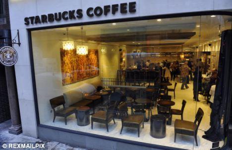 One on every high street: Starbucks enjoys a near-monopoly on coffee shops globally