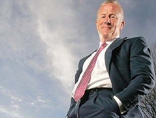 Star: Cash has poured non-stop into Neil Woodford's three mega-sized funds at Invesco Perpetual since he joined the firm in 1988