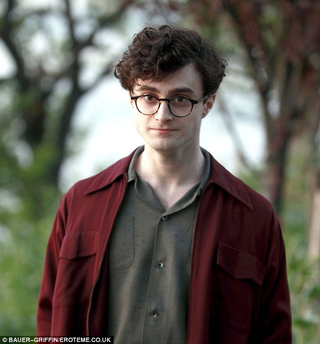 And the beat goes on: Daniel Radcliffe as poet Allen Ginsberg in new film, Kill Your Darlings