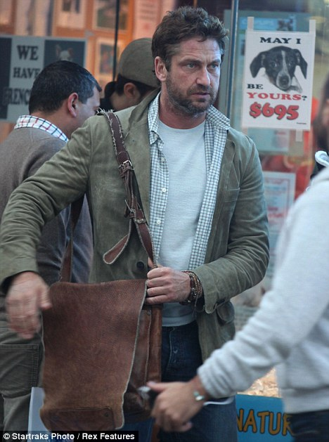 Denials: Gerard Butler has denied he entered rehab because of problems with alcohol, saying he has not had a drink in 15 years