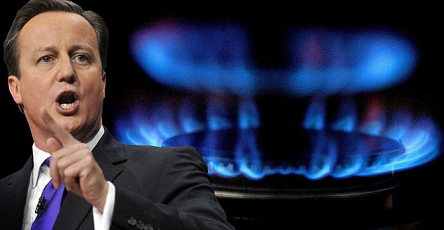 Change: Yesterday David Cameron promised to forced energy firms to put customers on the lowest tariff available.