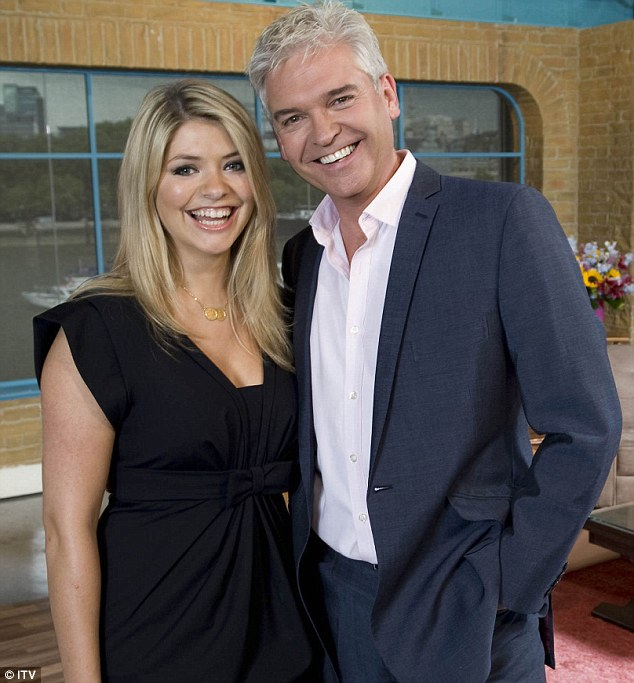 Hoaxed: Richards was interviewed by Schofield and co-host Holly Willoughby on This Morning