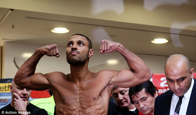 Fully focused: Brook knows he is one win away from a world title shot