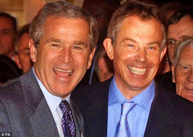 Mistaken: Part of Tony Blair's vast mistake in following George W. Bush into Iraq in 2003 was that he thought he could thereby gain leverage for the UK