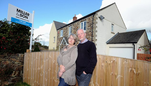 Nightmare: Lynne and David Rose's monthly drawdown income has halved