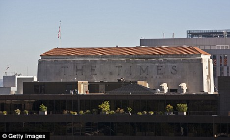 Competition: The Los Angeles Times, the fourth largest newspaper in the country, has other local investors, as well