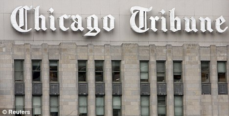 Eyed: The Chicago Tribune, the nation's ninth largest newspaper, is part of the beleaguered Tribune Co