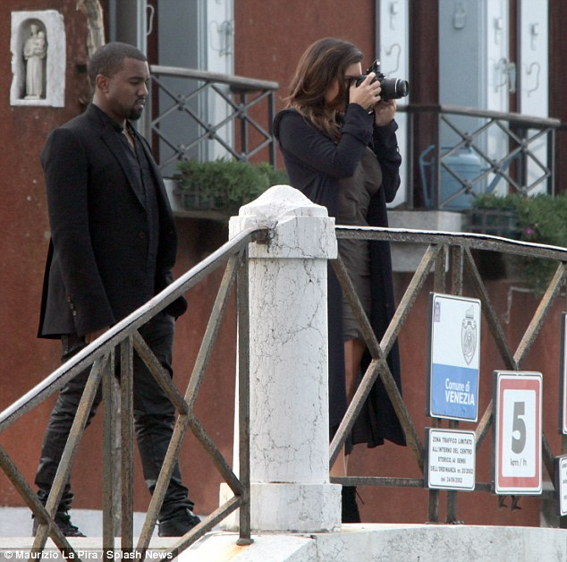 The tourist: Kim captured the city's sights on her camera