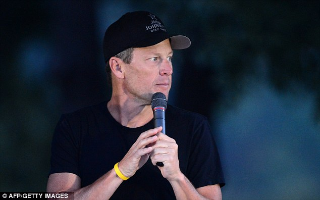 Banned: Armstrong has been stripped of his seven Tour titles by the USADA, but claims he was the victim of a 'witch hunt'