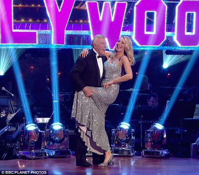 Break: Sir Bruce Forsyth, pictured with Strictly co-host Tess Daly, will take a holiday mid-series