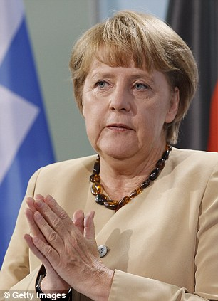 German Chancellor Angela Merkel will warn David Cameron that key budget talks set for next month will be cancelled if he insists on a push to freeze EU spending