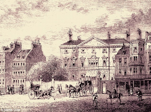 Beautiful: The Grade I listed building was designed by Matthew Brettingham for Charles Wyndham, 2nd Earl of Egremont in the 1750s and was one of London's most impressive structures