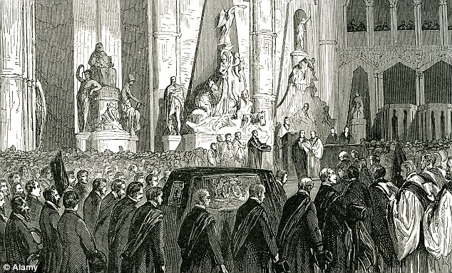 Lord Palmerston lived at the house until his death in 1865. His funeral procession (pictured) started from there on its way to Westminster Abbey