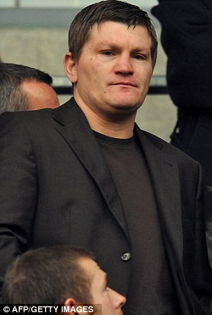 Hatton used to pile on pounds in between bouts