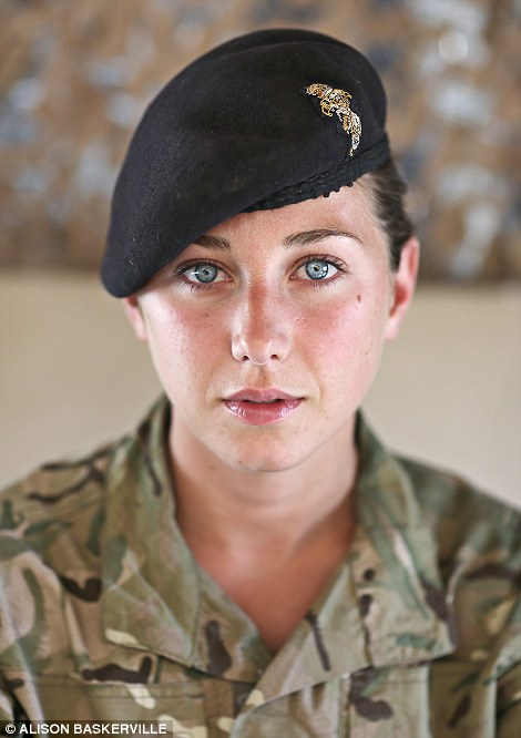 Captain Alice Homer is an officer with the Royal Electrical and Mechanical Engineers.  She has just spent six months running a small section of soldiers in Camp Bastion
