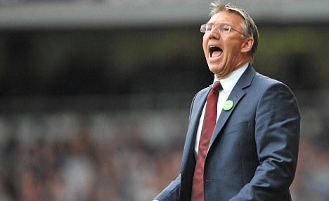 Under pressure: Southampton manager Nigel Adkins has struggled this season