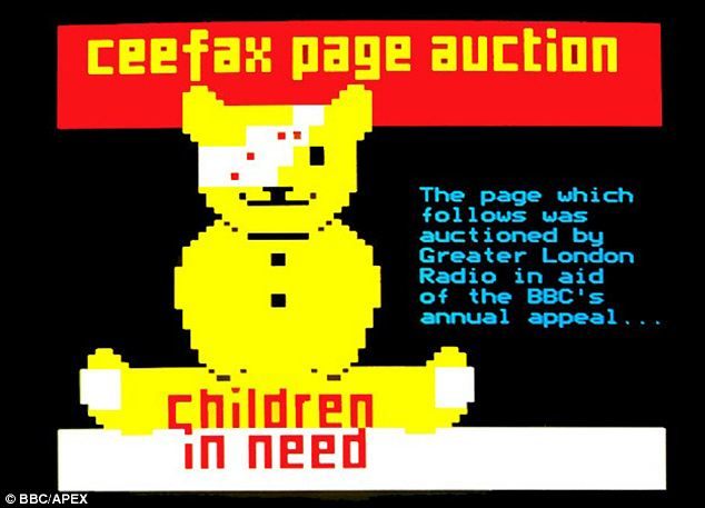 Popular: Audience figures peaked in the Nineties when Ceefax had 20million users who checked it at least once a week