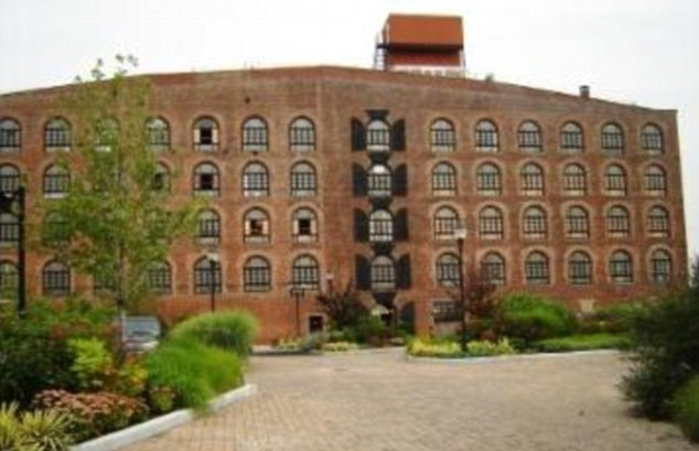 Before: The pair only recently moved into this stunning converted warehouse