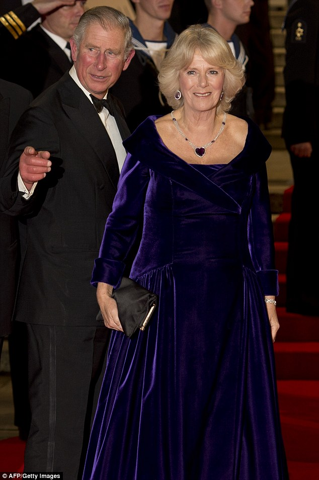 Royal event: Prince Charles And Camila, Duchess of Cornwall were the royal guests of the evening to give it even more of a wow factor
