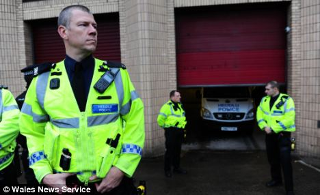 Officers face a three-year pay freeze, increased pension contributions and the loss of 34,000 police and civilian jobs