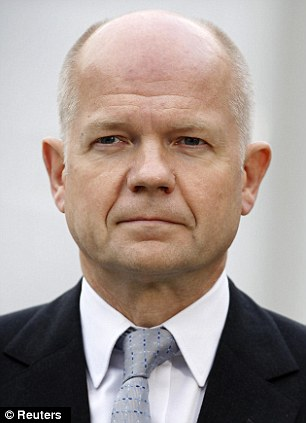 Probe: Foreign Secretary William Hague, pictured, has launched the biggest ever review into the European Union's powers over Britain