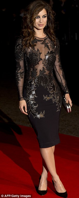 Quick change! Berenice and Naomie wore equally glamorous dresses for the afterparty following the premiere