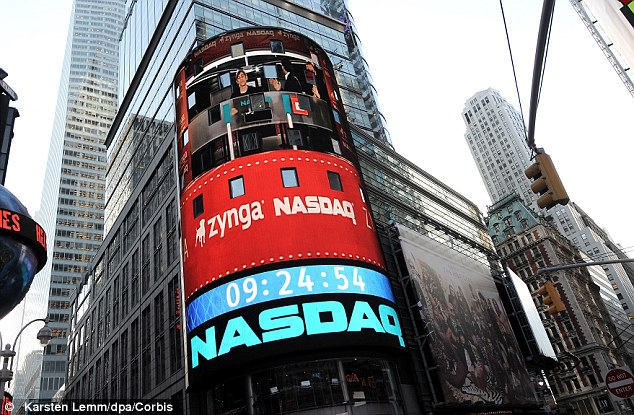 Great expectations: Zynga went public last December at $10 per share and peaked in March at $15.91