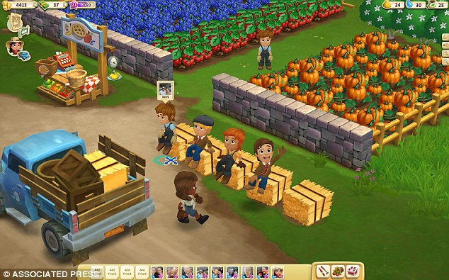 Juggernaut: Zynga makes five of the 10 most popular games on Facebook, including FarmVille