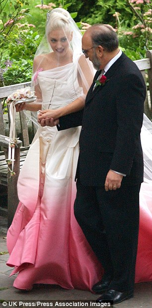 THE WEDDING OF GWEN STEFANI & GAVIN ROSSDALE