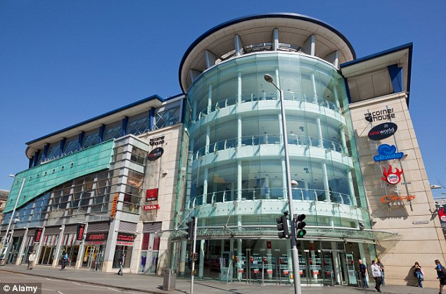 Blunder: Staff at the Cineworld cinema in Nottingham (pictured) apologised and offered a refund to the angry audience