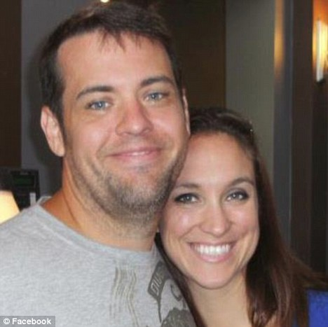 Marital status: David is married and on her Facebook page can be seen posing with this man, believed to her her husband