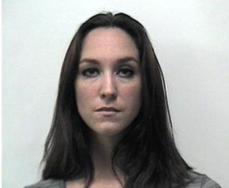 Language teacher: Christie David, 32, of Cleveland, is accused of having an inappropriate relationship with a male 15-year-old former student