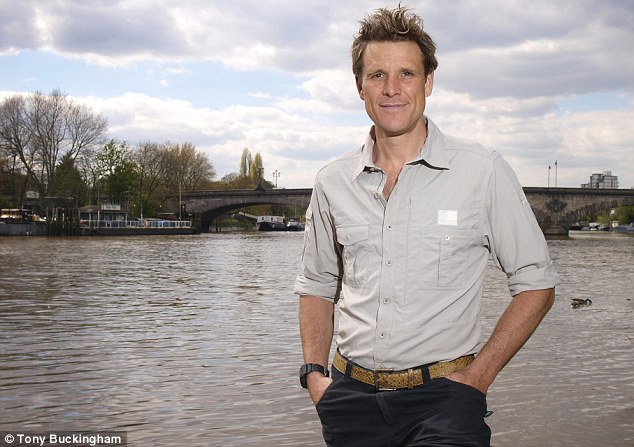 Rower James Cracknell at Kew, London