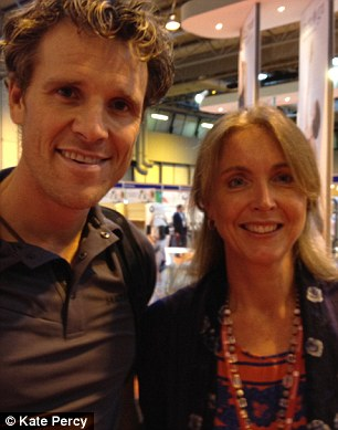 James Cracknell and Kate Percy