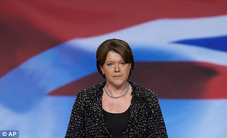 Oops: Maria Miller muddled up St James' and St George's