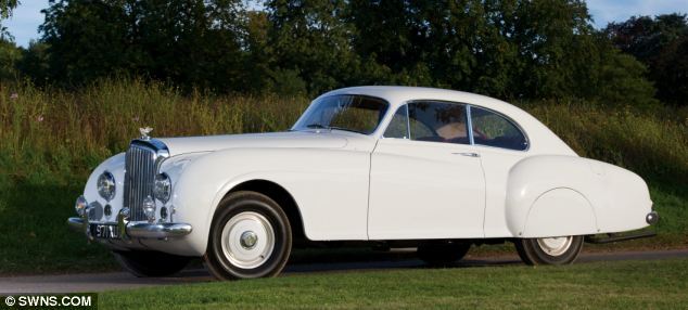 This stunning white 1952 Bentley Continental R-Type Fastback Sports Saloon by H.J. Mulliner & Co. could be yours for £675,000
