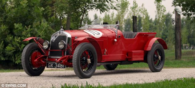 A real classic, this 1930 Alfa Romeo 6C 1750 GS Testa Fissa, is expected to be sold for £900,000