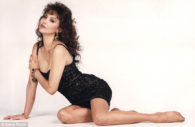 Vintage star: Marie, pictured in 1991, was a big hit with Vogue magazine throughout the 1980s
