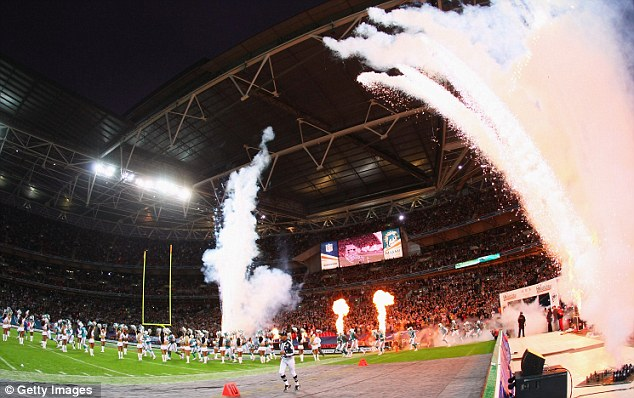 Popular: Wembley has hosted an NFL match on five previous occasions to great success