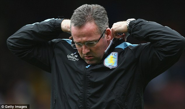 Slump: Paul Lambert is hoping to pull his side out of a rut by beating former club Norwich on Saturday