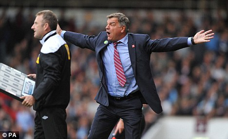 I want him this much: Sam Allardyce would be keen to sign Rio Ferdinand