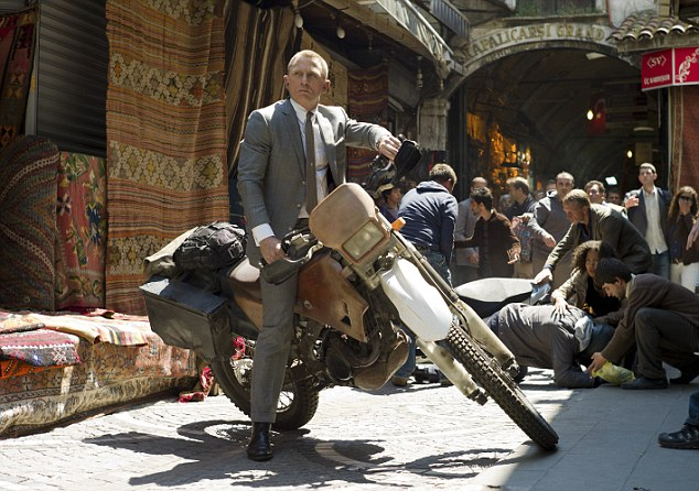 Money maker: Skyfall, starring Daniel Craig, is likely to make more than £20 million at the box office