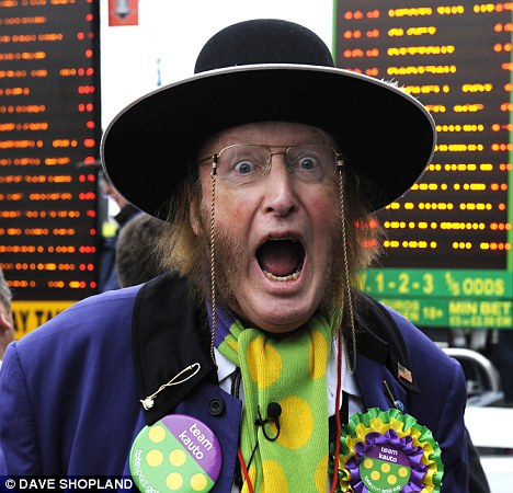 Mad-cap: McCririck was an outspoken character in racing
