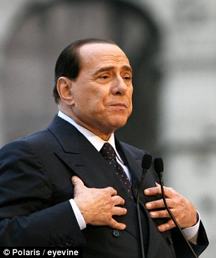 Who me? Berlusconi's career has been dogged by scandal and criminal probe