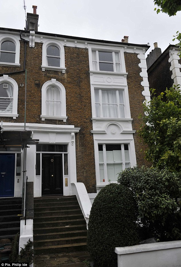 Des res: The Miliband's £2m house