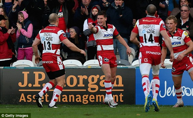 Class apart: Burns was outstanding for Gloucester